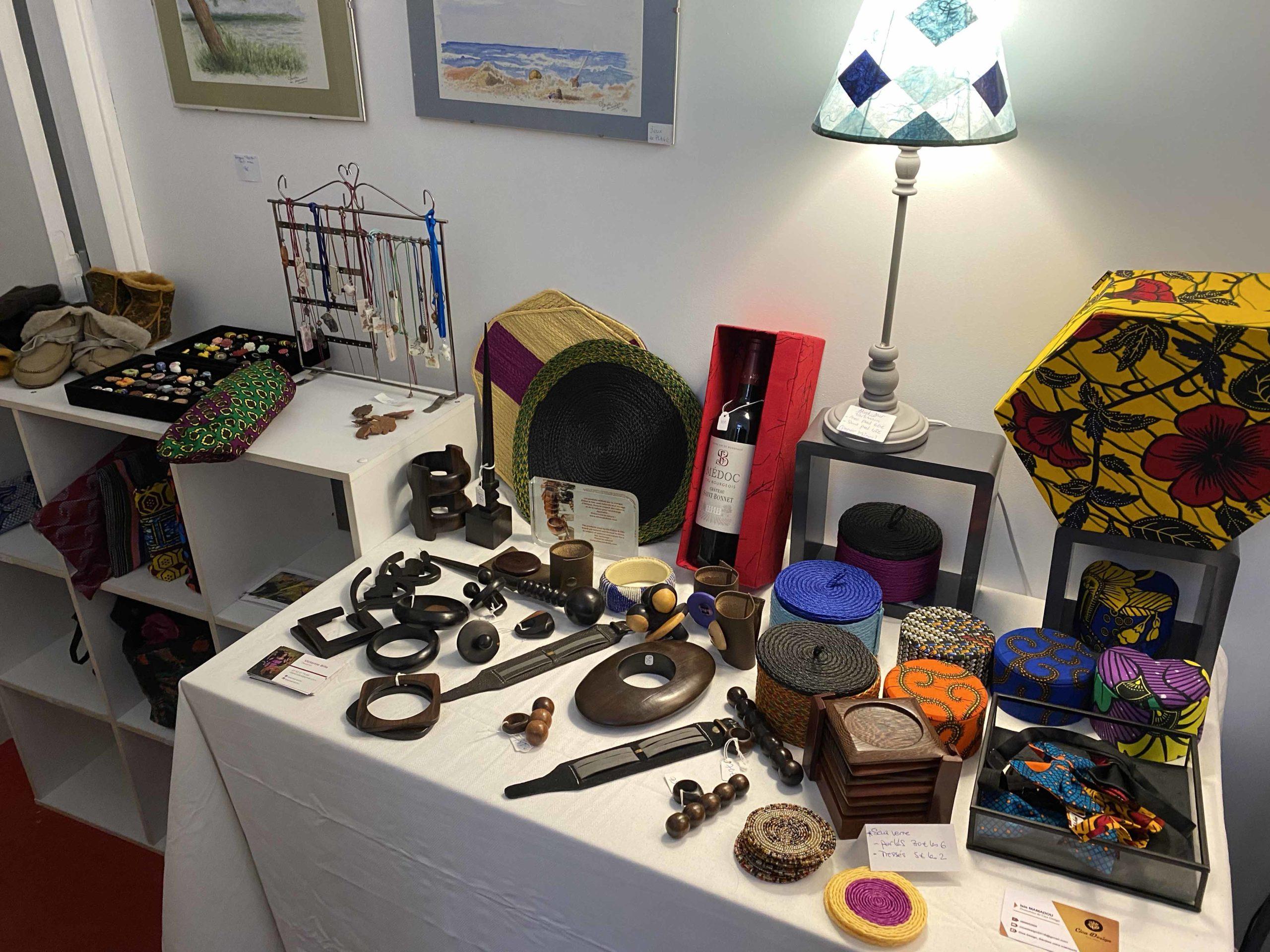 Bijoux africains, boîtes décoratives