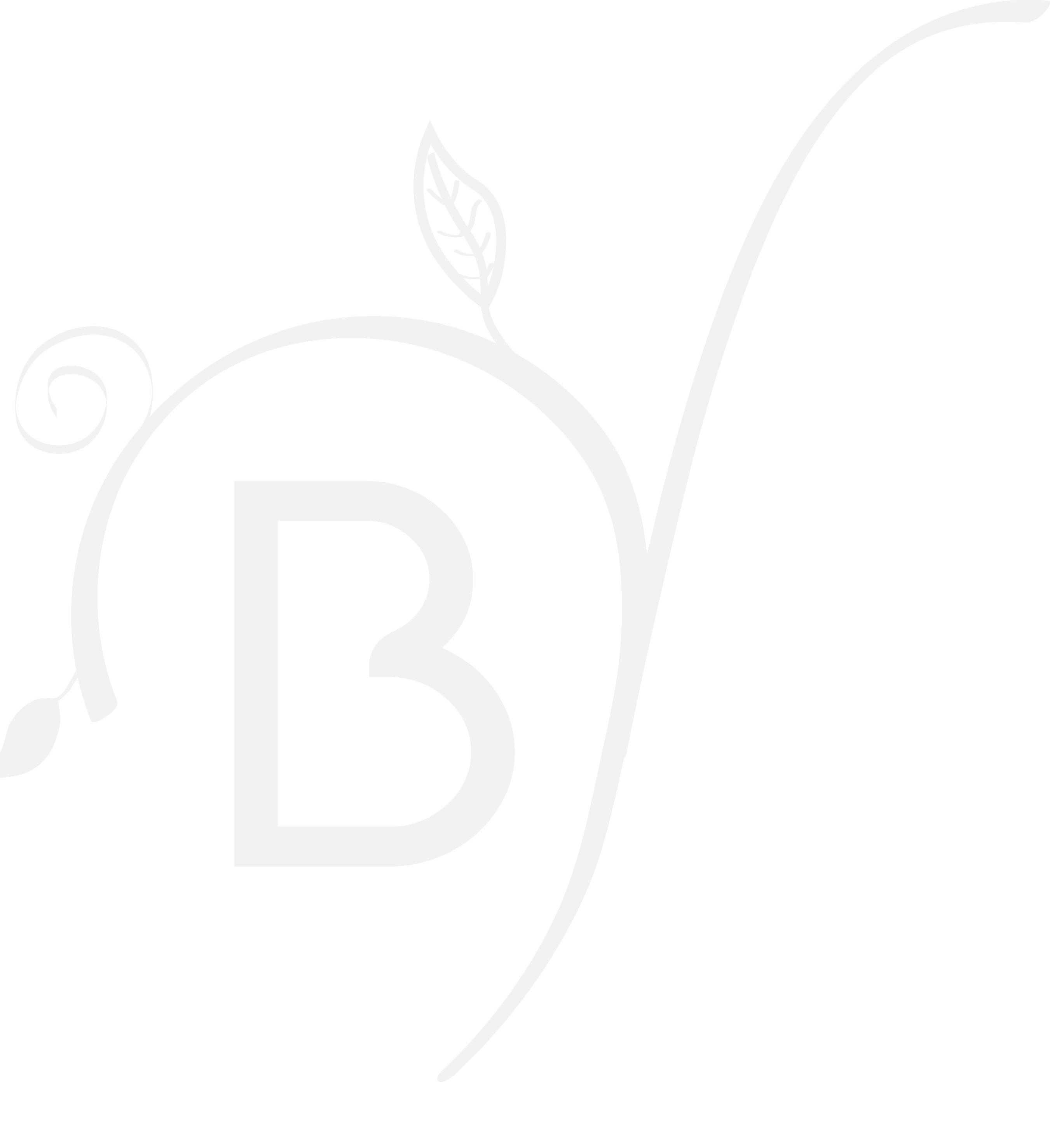 Le Barbizon - logo - Blanc