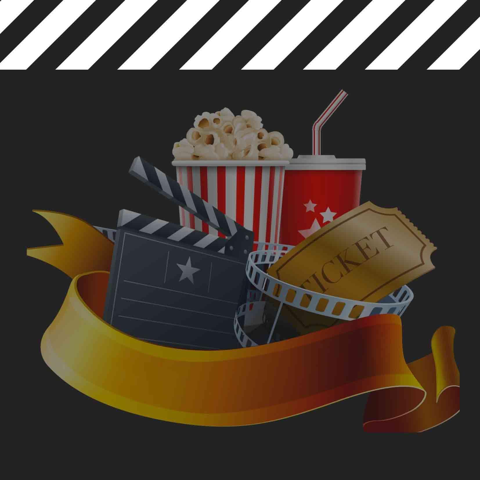Popcorn, soda, cinéma